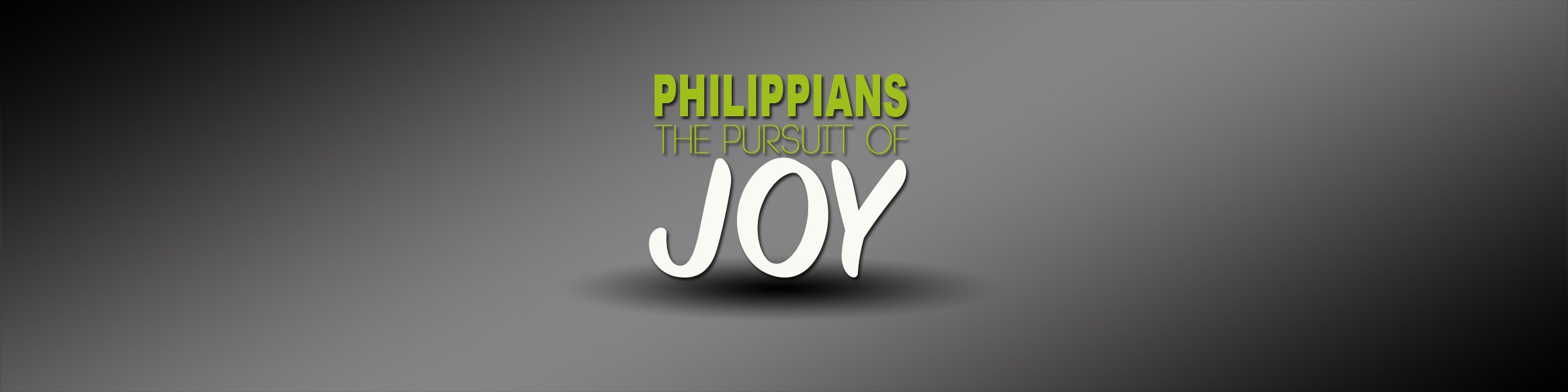 The Pursuit of Joy Pt. 1