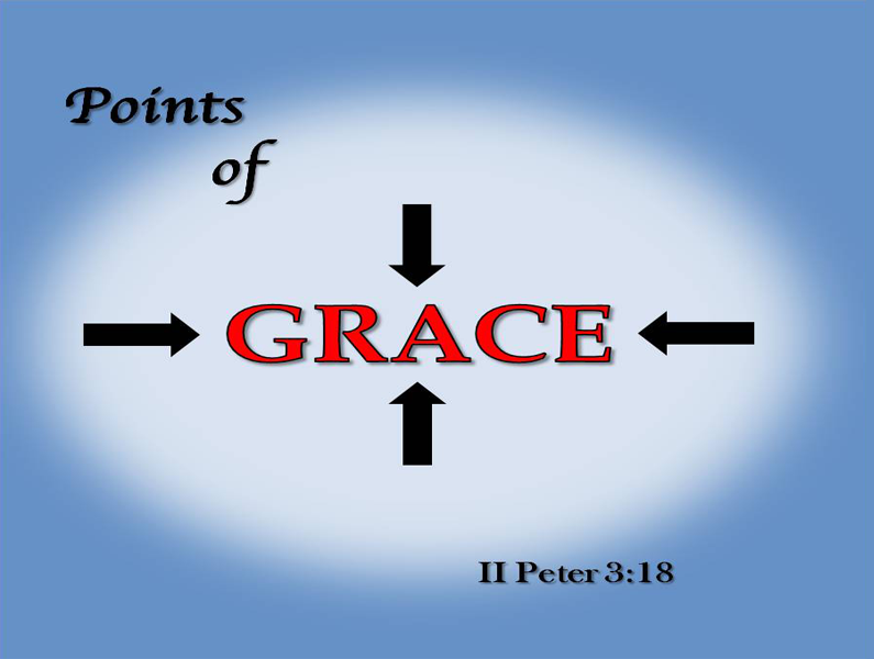 Points of Grace: Sanctfiying Grace